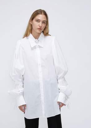 Ann Demeulemeester Long Sleeve Double Collar Button Down
