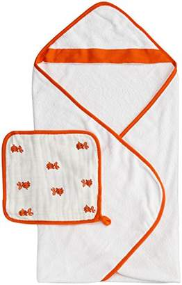 Aden Anais (エイデン アネイ) - aden + anais (エイデンアンドアネイ) 【日本正規品】 タオル&ウォッシュクロスセット splish splash hooded towel set-3023
