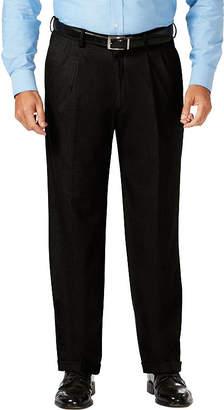 Haggar Jm Dress Pant Mens Classic Fit Pleated Pant - Big and Tall