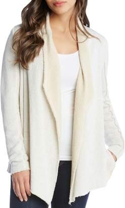 Karen Kane Raw Edge Collar Jacket