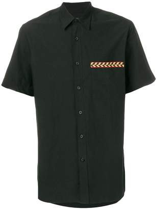 Lanvin embroidered pocket shirt
