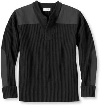 L.L. Bean L.L.Bean Commando Sweater, Henley