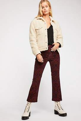 Tailored Crop Cord Flares