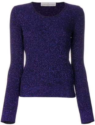 Golden Goose glitter-effect fitted sweater