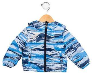 Moncler Boys' Dominic Printed Coat