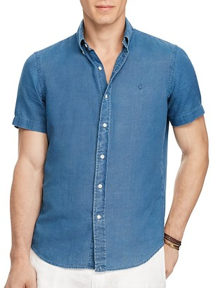 Polo Ralph Lauren Classic Fit Button-Down Shirt $85 thestylecure.com