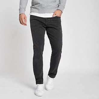 River Island Levis 512 dark grey slim taper fit jeans