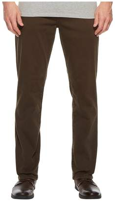 Liverpool Relaxed Straight Stretch Denim Jeans in Black Olive Men's Jeans