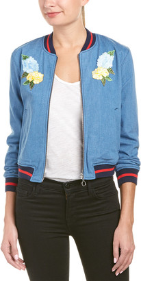 Eight Dreams Ei8ht Dreams Cropped Bomber Jacket