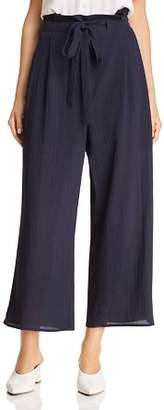 J.o.a. Tie-Front Culotte Pants
