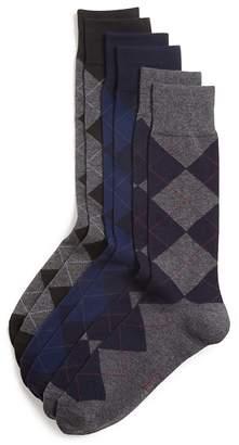 Polo Ralph Lauren Argyle Dress Socks, Pack of 3 $23 thestylecure.com