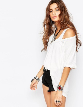 Free People Free Fallin Tee $56 thestylecure.com