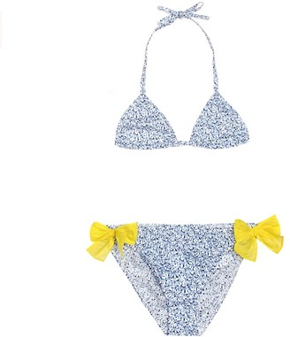 Il Gufo Floral cotton bikini