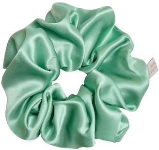 Holistic Silk Pure Mulberry Silk Scrunchie Jade