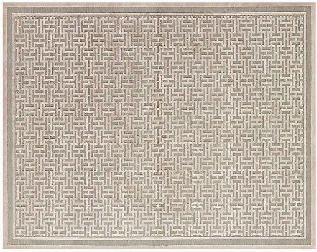Basie Rug – Pewter/Light Gray – 7'6″x10'6″