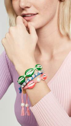 Venessa Arizaga Pearly Shell Bracelet