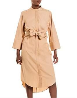 Studio.W Mandarin Poplin Shirt Dress