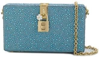 Dolce & Gabbana Box rhinestone embellished clutch