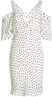 McQ Printed Crepe Dress