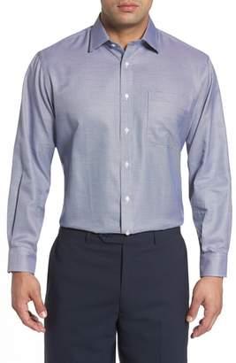 Nordstrom Classic Fit Microgrid Dress Shirt