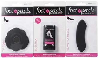 Foot Petals Women's Heavenly Heelz and Tip Toes Combo Insole