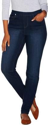 Denim & Co. Regular 5 Pocket Denim Pull-on Jeggings