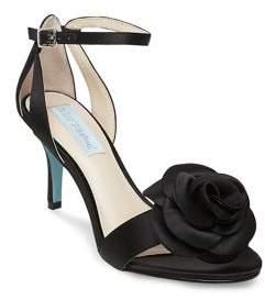 Betsey Johnson Madi Flower Ankle Strap Dress Sandals