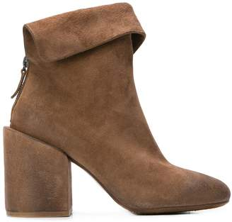Marsèll folded panel ankle boots