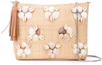 Loeffler Randall embellished clutch bag