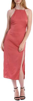 Miss Shop Midi Apron Slip Dress