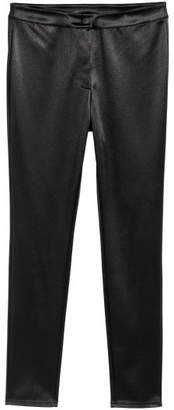 H&M Stretch Pants with a Sheen - Black