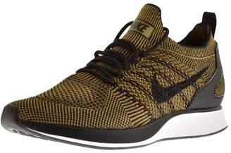Nike Mariah Flyknit Racer Trainers Khaki