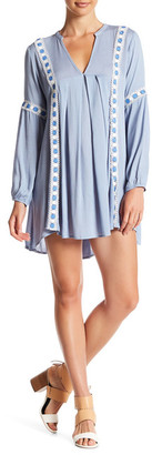En Creme Long Sleeve Lace Dress $48 thestylecure.com