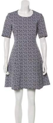 Kenzo Mini Wool Dress Black Mini Wool Dress