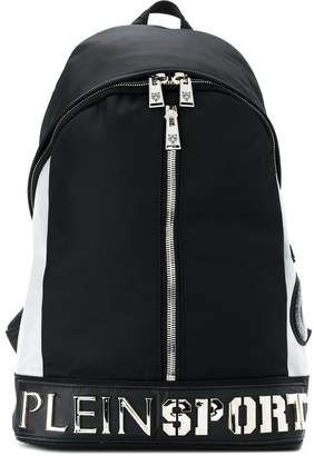 Plein Sport panelled backpack