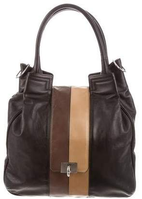 Marc Jacobs Tricolor Leather Satchel