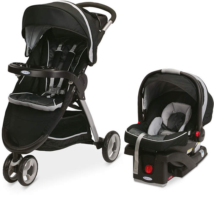 Graco FastAction Sport Stroller & SnugRide Click Connect ...