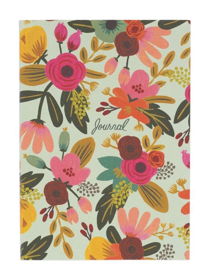 Mint Floral Journal