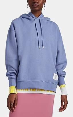 Acne Studios Women's Garment-Dyed Cotton Oversized Hoodie - Lt. Blue