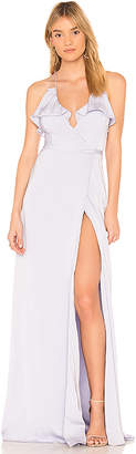The Jetset Diaries Opal Wrap Maxi Dress