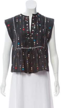 Isabel Marant Embellished Polka Dot Top w/ Tags