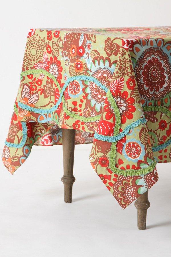 Tahitian Vine Tablecloth
