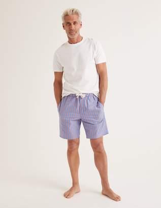 Boden Cotton Poplin Pyjama Shorts