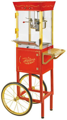 Nostalgia Electrics Vintage 6 Oz. Circus Cart Popcorn Maker in Red