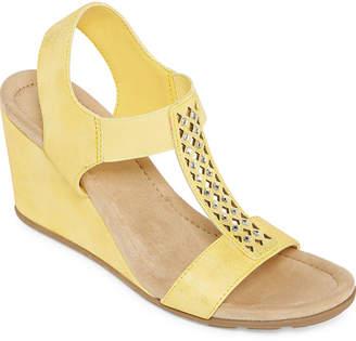 d64e4b011660 ST. JOHN S BAY Womens Sjb Luna Wedge Sandals
