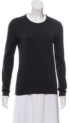 Calvin Klein Collection Long Sleeve Mélange Top