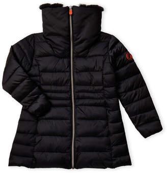 Save The Duck (Girls 4-6x) Long Puffer Coat