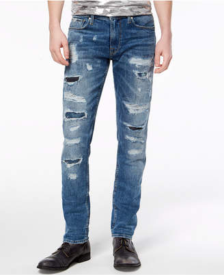 GUESS Men Slim Tapered Fit Stretch Jeans