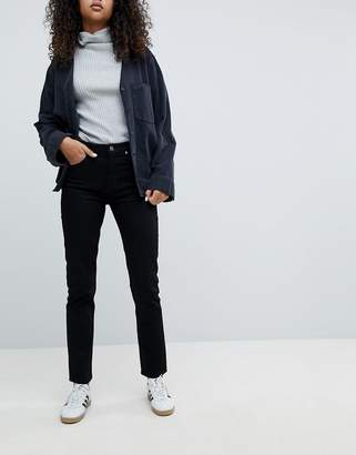 Weekday Seattle Mom Jeans in Organic Cotton