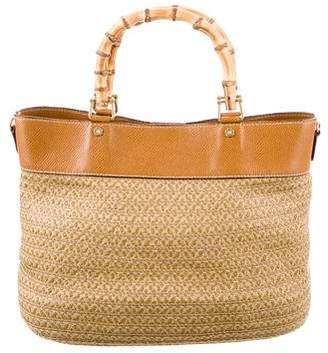 Eric Javits Woven Straw Tote